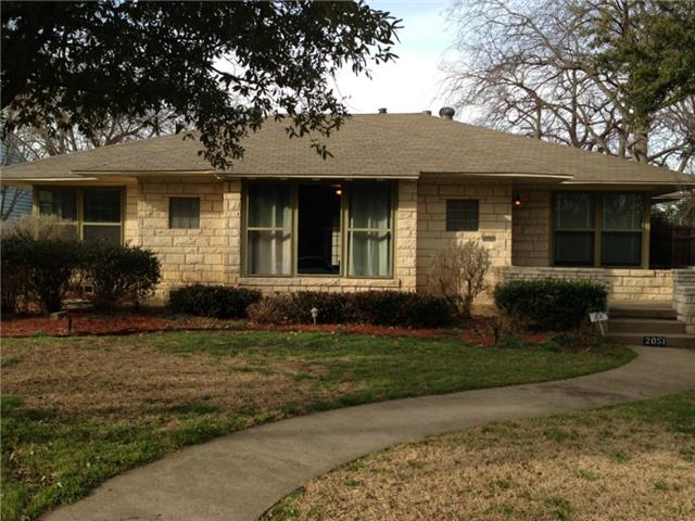 Rental Homes for Rent, ListingId:32166324, location: 2051 Marydale Drive Dallas 75208