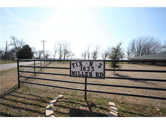 1633 Miller Road, Melissa, Texas 3 Bedroom as one of Homes & Land Real Estate