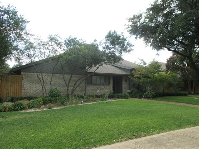 Rental Homes for Rent, ListingId:32364430, location: 10108 Laingtree Drive Dallas 75243
