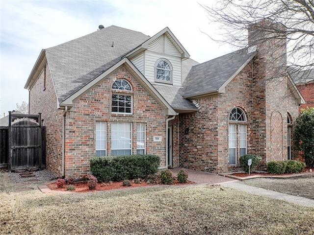 Rental Homes for Rent, ListingId:32175772, location: 729 Fairlawn Street Allen 75002