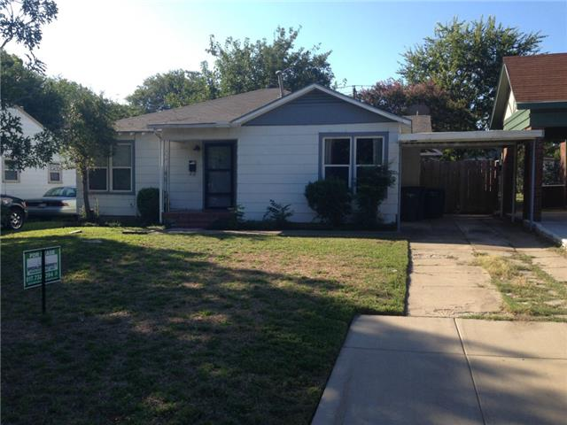 Rental Homes for Rent, ListingId:32174093, location: 4919 Birchman Avenue Ft Worth 76107