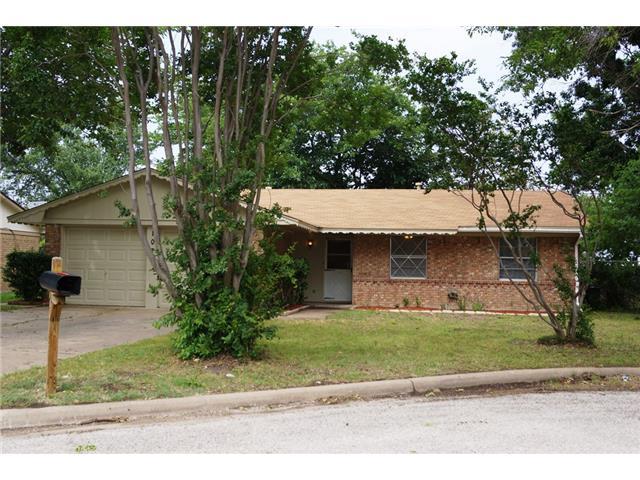 Rental Homes for Rent, ListingId:32170187, location: 107 Alamo Street Waxahachie 75165