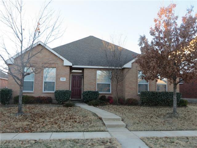 Rental Homes for Rent, ListingId:32170537, location: 1530 Creek Springs Drive Allen 75002