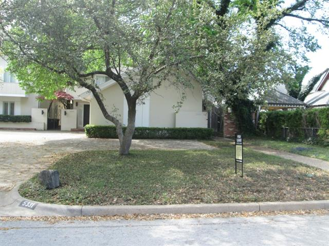 Rental Homes for Rent, ListingId:32227781, location: 5329 Byers Ft Worth 76107