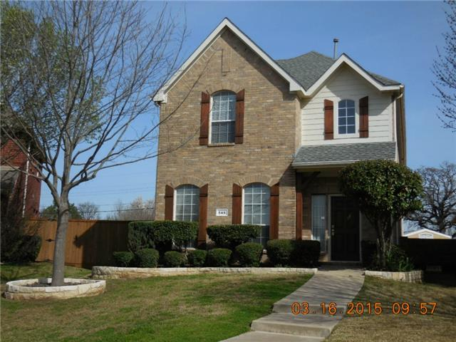 Rental Homes for Rent, ListingId:32349145, location: 546 Archer Drive Coppell 75019
