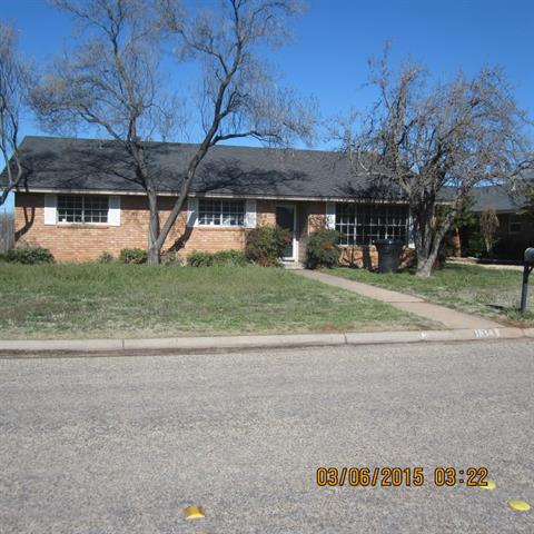 Rental Homes for Rent, ListingId:32333305, location: 1634 N Bowie Drive Abilene 79603
