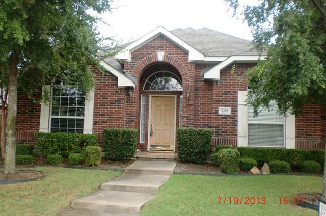 Rental Homes for Rent, ListingId:32333468, location: 1329 Bent Tree Drive Frisco 75034