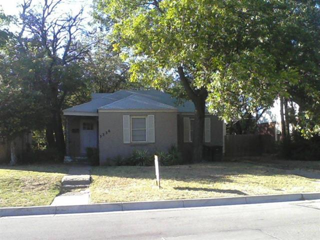 Rental Homes for Rent, ListingId:32647095, location: 3336 Mission Street Ft Worth 76109