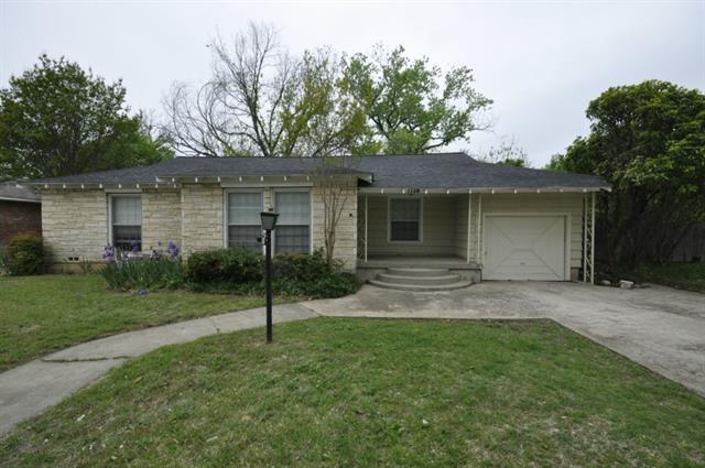 Rental Homes for Rent, ListingId:35021733, location: 1724 Oakland Boulevard Ft Worth 76103