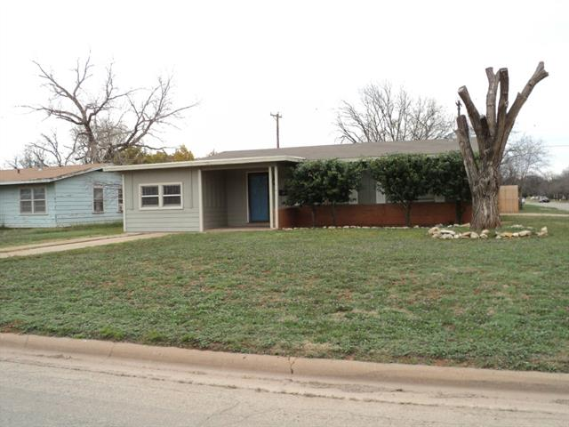Rental Homes for Rent, ListingId:32448504, location: 1281 Buccaneer Drive Abilene 79605