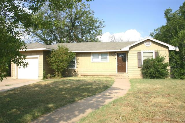 Rental Homes for Rent, ListingId:32523192, location: 2473 Swenson Street Abilene 79603