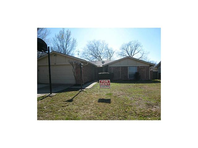 Rental Homes for Rent, ListingId:33266284, location: 5609 Valley Mills Drive Garland 75043