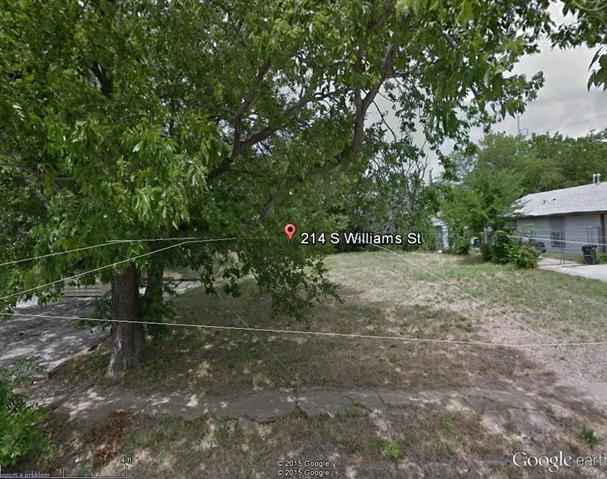 Land for Sale, ListingId:32647192, location: 214 S Williams Street Ft Worth 76104