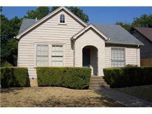 Rental Homes for Rent, ListingId:32676428, location: 2908 MERIDA Avenue Ft Worth 76109
