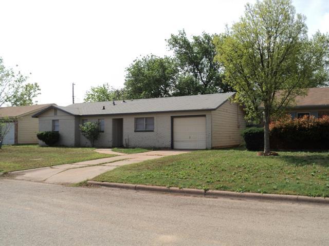 Rental Homes for Rent, ListingId:32738612, location: 3665 Janice Lane Abilene 79603