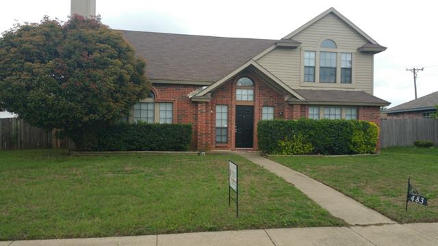 Rental Homes for Rent, ListingId:32941053, location: 483 Everest Drive Cedar Hill 75104