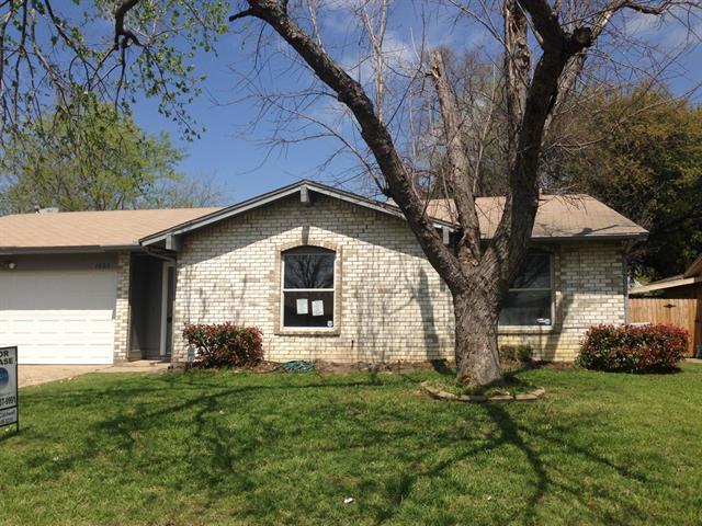 Rental Homes for Rent, ListingId:32775536, location: 1603 Amhurst Drive Arlington 76014