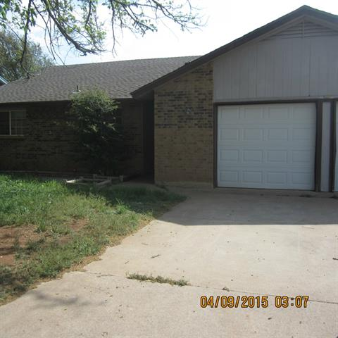 Rental Homes for Rent, ListingId:32806750, location: 1741 Bob White Court Abilene 79605