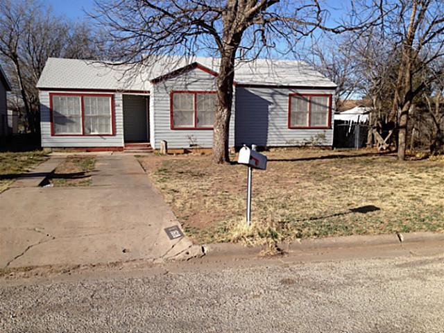 Rental Homes for Rent, ListingId:32818150, location: 1618 S 22nd Street Abilene 79602