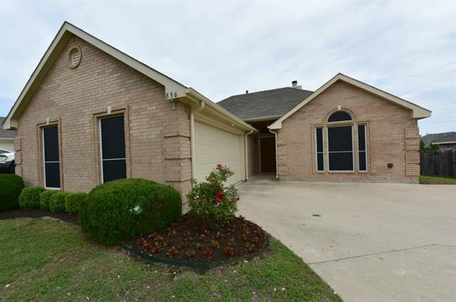 Rental Homes for Rent, ListingId:32817760, location: 836 Sunflower Trail Rockwall 75032