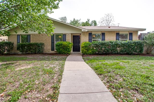 Rental Homes for Rent, ListingId:32882812, location: 4409 Mint Drive Garland 75043