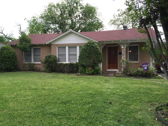 Rental Homes for Rent, ListingId:32888757, location: 3516 Mission Street Ft Worth 76109