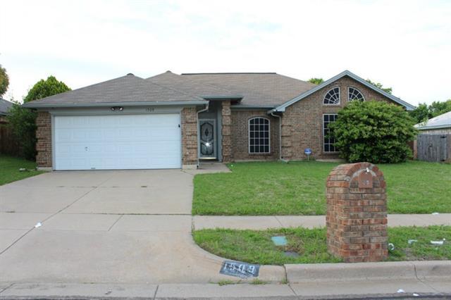 Rental Homes for Rent, ListingId:32900856, location: 1509 Sayles Avenue Arlington 76018