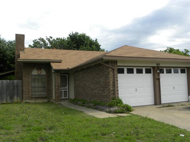 Rental Homes for Rent, ListingId:32947797, location: 105 Valley Spring Drive Arlington 76018