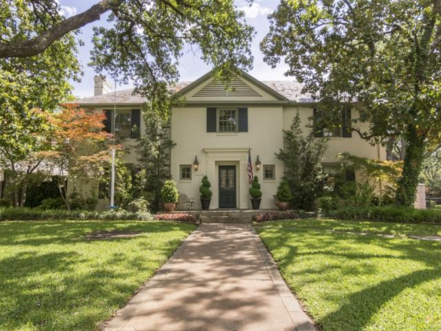 Real Estate for Sale, ListingId: 33027795, Highland Park, TX  75205
