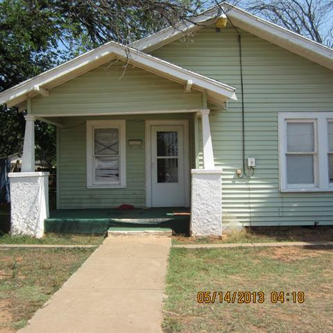 Rental Homes for Rent, ListingId:33028025, location: 2718 S 3rd Street Abilene 79605