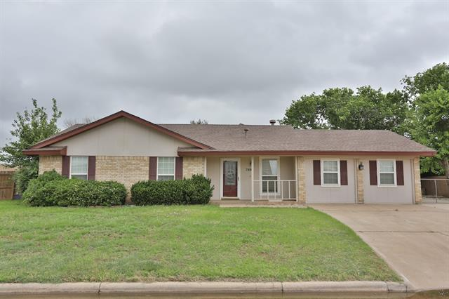 Rental Homes for Rent, ListingId:33080691, location: 7809 White Boulevard Abilene 79606