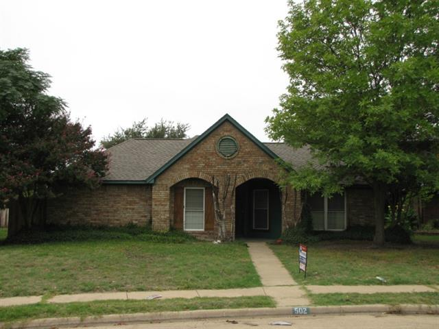 Rental Homes for Rent, ListingId:33176482, location: 502 Clover Court Allen 75002