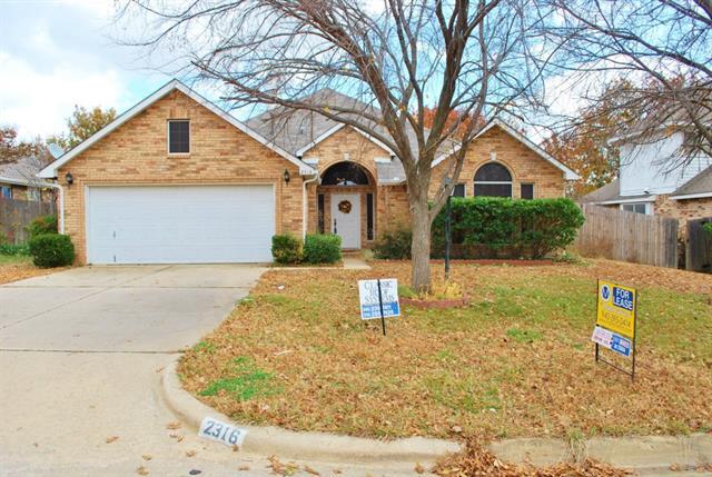 Rental Homes for Rent, ListingId:33129625, location: 2316 Brooklake Street W Denton 76207