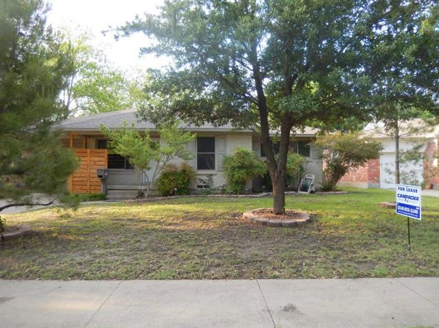 Rental Homes for Rent, ListingId:33129875, location: 3115 San Vicente Dallas 75228