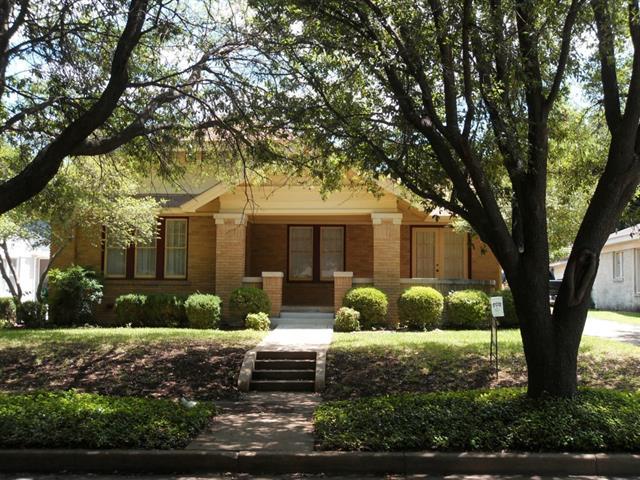 Rental Homes for Rent, ListingId:33130121, location: 2625 Greene Avenue Ft Worth 76109