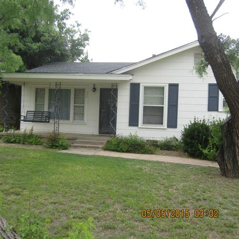 Rental Homes for Rent, ListingId:33176527, location: 533 E North 20th Street Abilene 79601