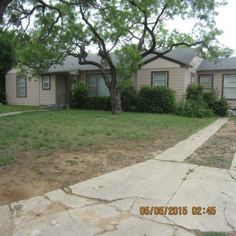 Rental Homes for Rent, ListingId:33176457, location: 717 E North 13th Street Abilene 79601