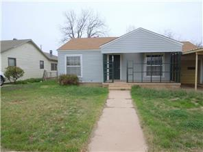 Rental Homes for Rent, ListingId:33199354, location: 1634 Lillius Street Abilene 79603