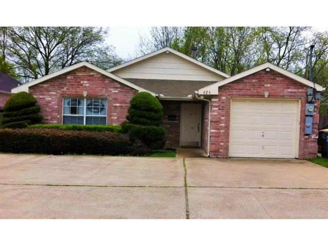 Rental Homes for Rent, ListingId:33208091, location: 426 W 12th Street Dallas 75208
