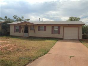 Rental Homes for Rent, ListingId:33244012, location: 5457 Taos Drive Abilene 79605
