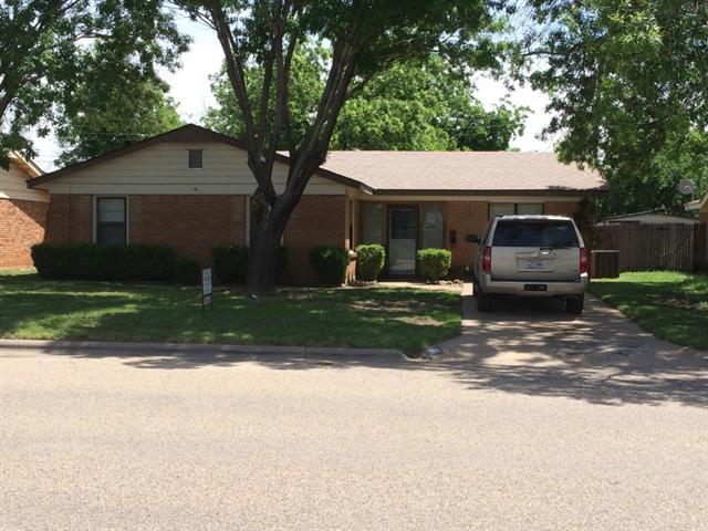 Rental Homes for Rent, ListingId:33290784, location: 3117 Edgemont Drive Abilene 79605