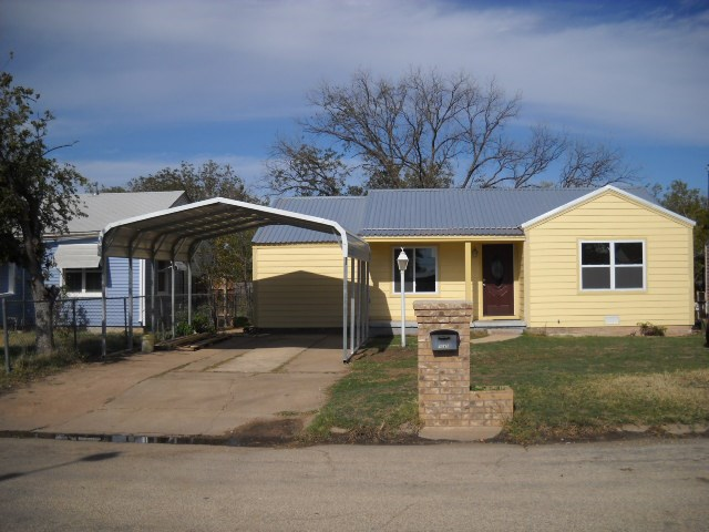 Rental Homes for Rent, ListingId:33310877, location: 1642 S 23rd Street Abilene 79602