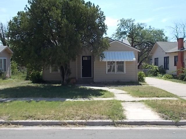 Rental Homes for Rent, ListingId:33352241, location: 933 Peach Street Abilene 79602