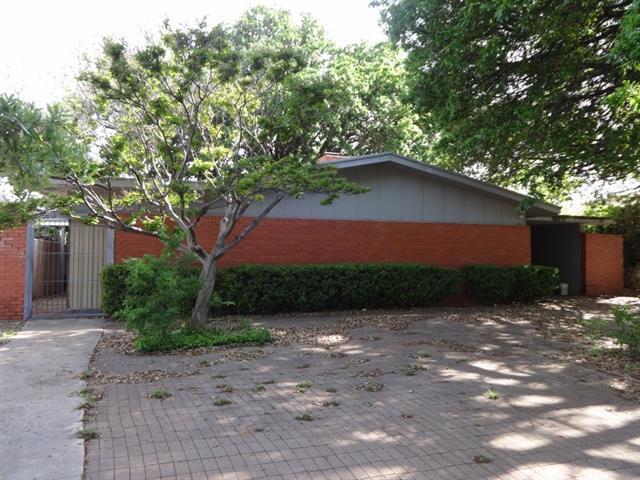 Rental Homes for Rent, ListingId:33390310, location: 3625 N 11th Street Abilene 79603