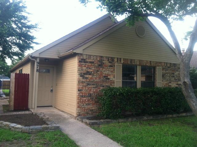 Rental Homes for Rent, ListingId:33390982, location: 978 Mapleleaf Lane Coppell 75019