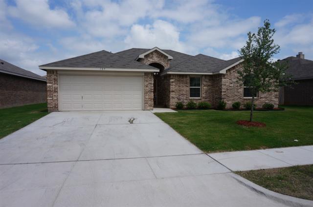 Rental Homes for Rent, ListingId:33416857, location: 189 Adams Drive Crowley 76036