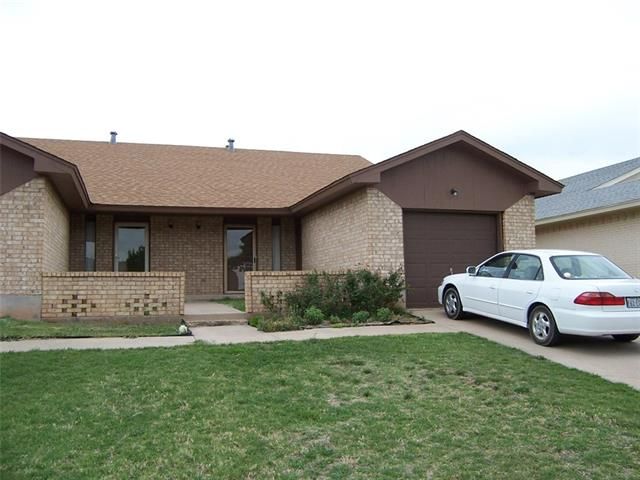Rental Homes for Rent, ListingId:33399141, location: 558 Scotland Court Abilene 79601