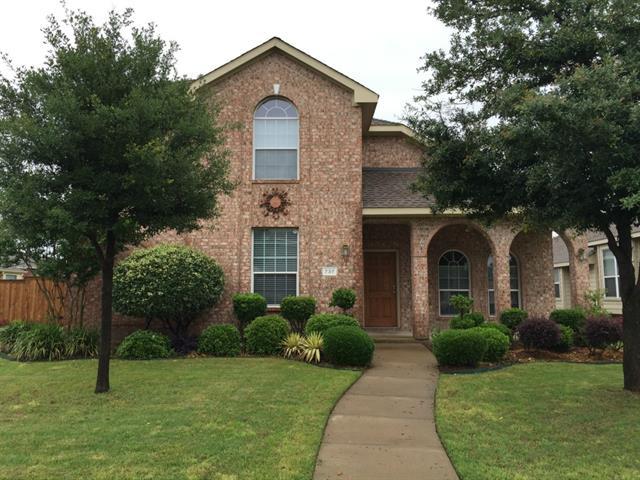 Rental Homes for Rent, ListingId:33467777, location: 737 Cherry Blossom Lane Allen 75002
