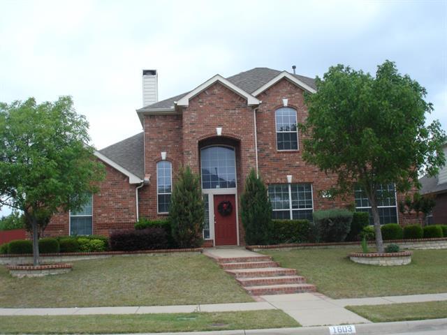 Rental Homes for Rent, ListingId:33489113, location: 1603 Clarke Spring Drive Allen 75002