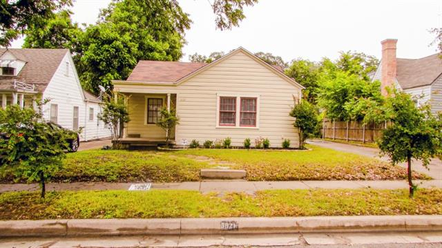 Rental Homes for Rent, ListingId:33500274, location: 3021 Willing Ave Avenue Ft Worth 76110